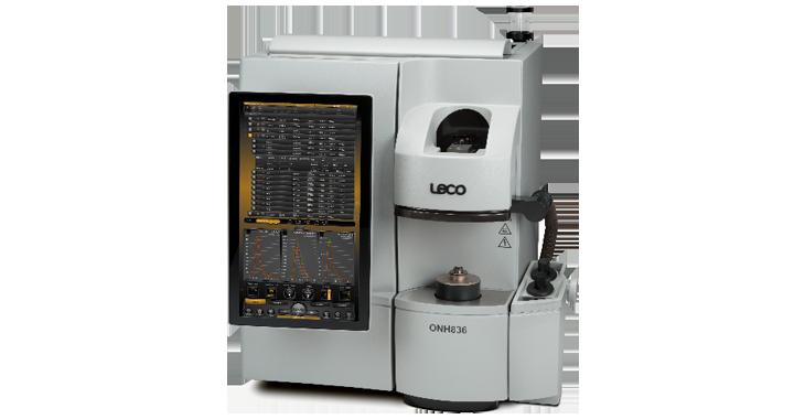 NH836 Analizador de nitrógeno e hidrógeno (dos celdas de detección)