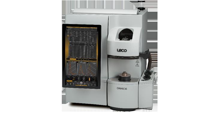 ONH836 Analizador de oxigeno nitrógeno e hidrógeno (dos celdas de detección)