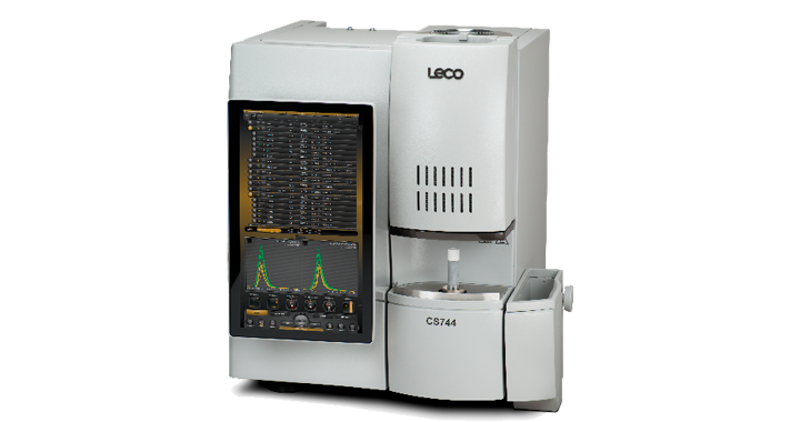 CS744 Analizador de carbón y azufre (una celda de detección)